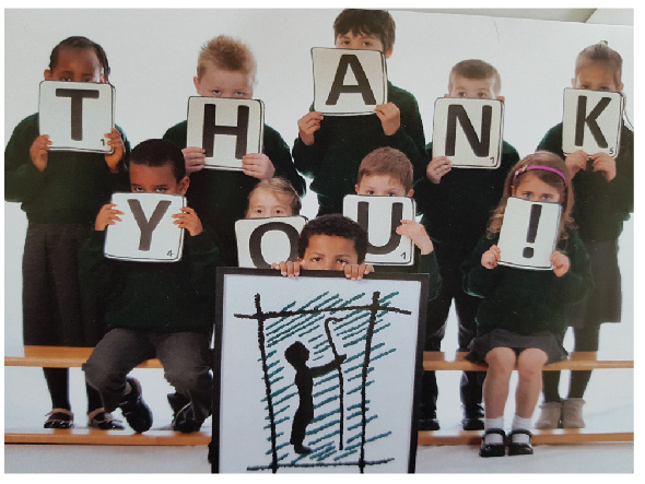 thank-you card Good Shepherd N.S