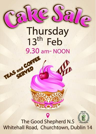 Cake Sale Good Shepherd N.S Churchtown 13 February 2020