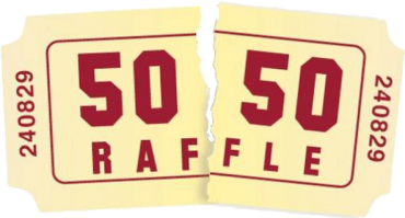 Everyone can be a winner 50/50 draw!