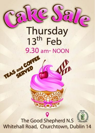 Cake Sale, 13 February